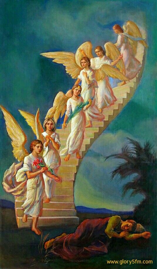 Jacob S Ladder Seraphim Cherubin Anjos E Fadas