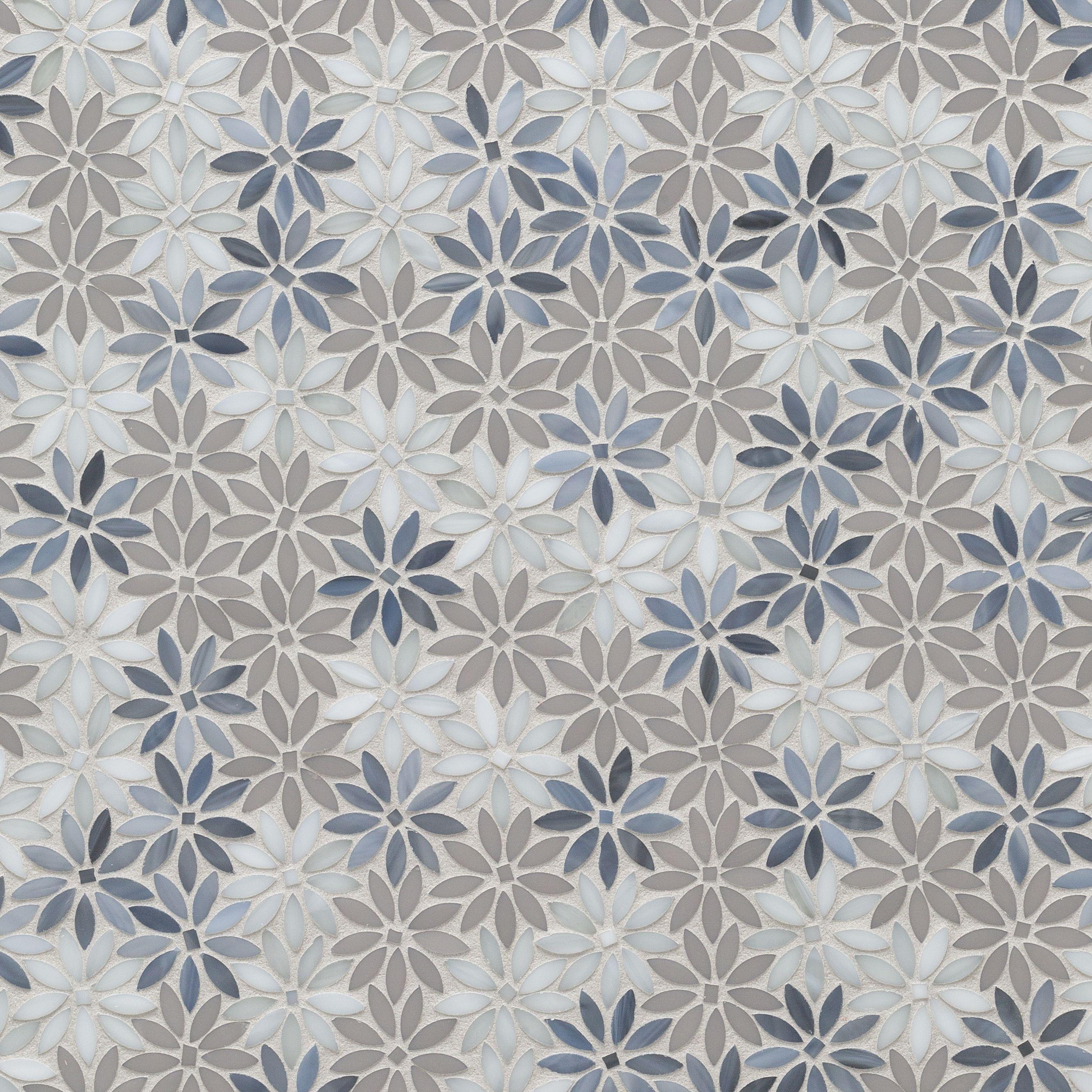 Artistic Tile Der Daisy Grey Beige