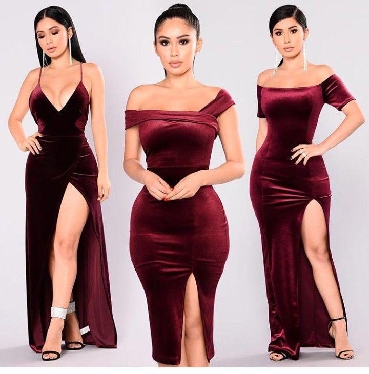 Fashion nova red dress Formal dresses long, Dresses