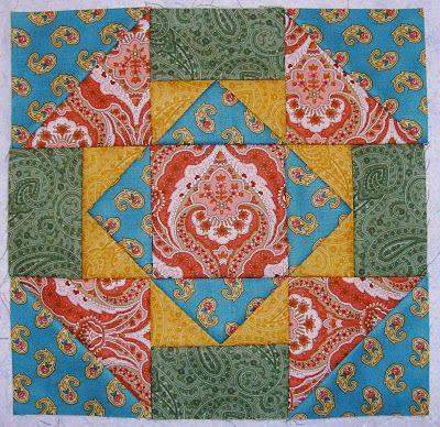Sew Joy fun quilt square idea