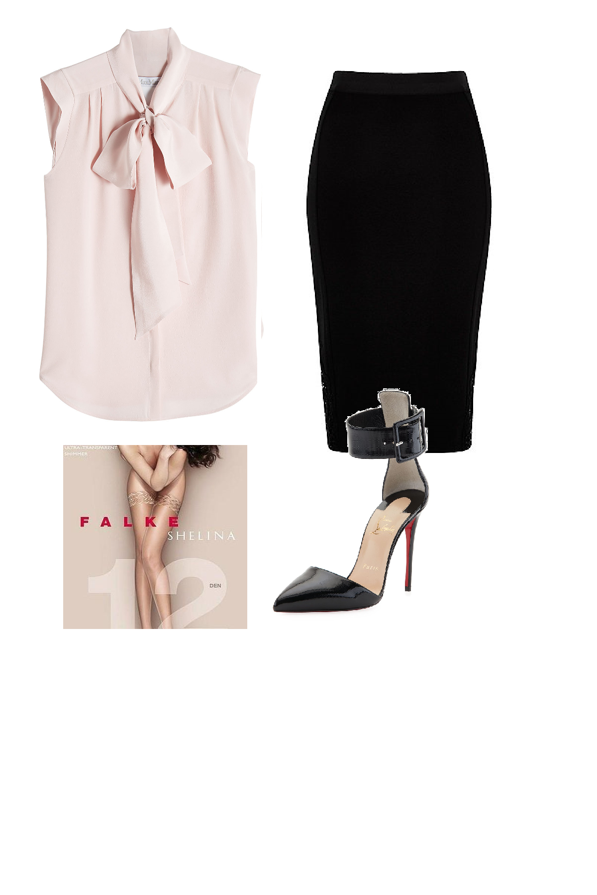 321a5be85ac Outfit for the office or evening with thigh highs. Outfit that incorporate  hosiery fashion.