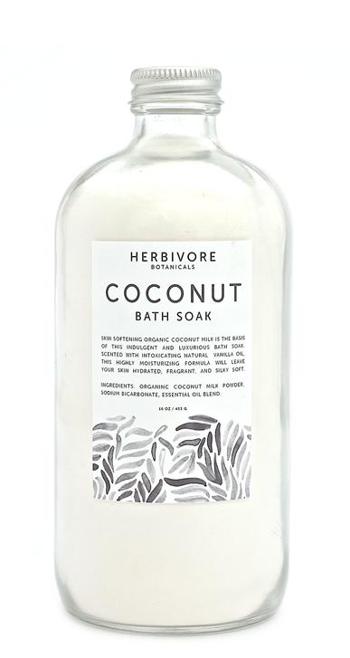 Coconut Milk Bath Soak Coconut Organic coconut milk