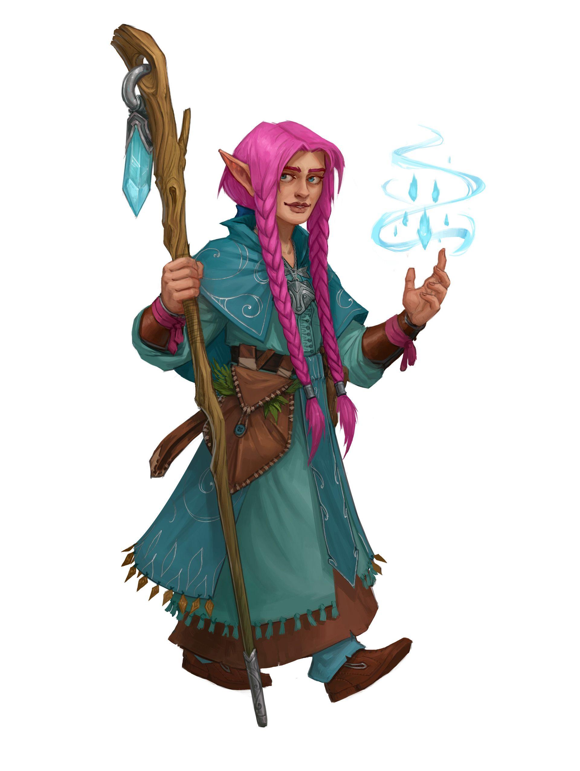 Female Gnome: ArtStation - The Hollysharps, Graey Erb