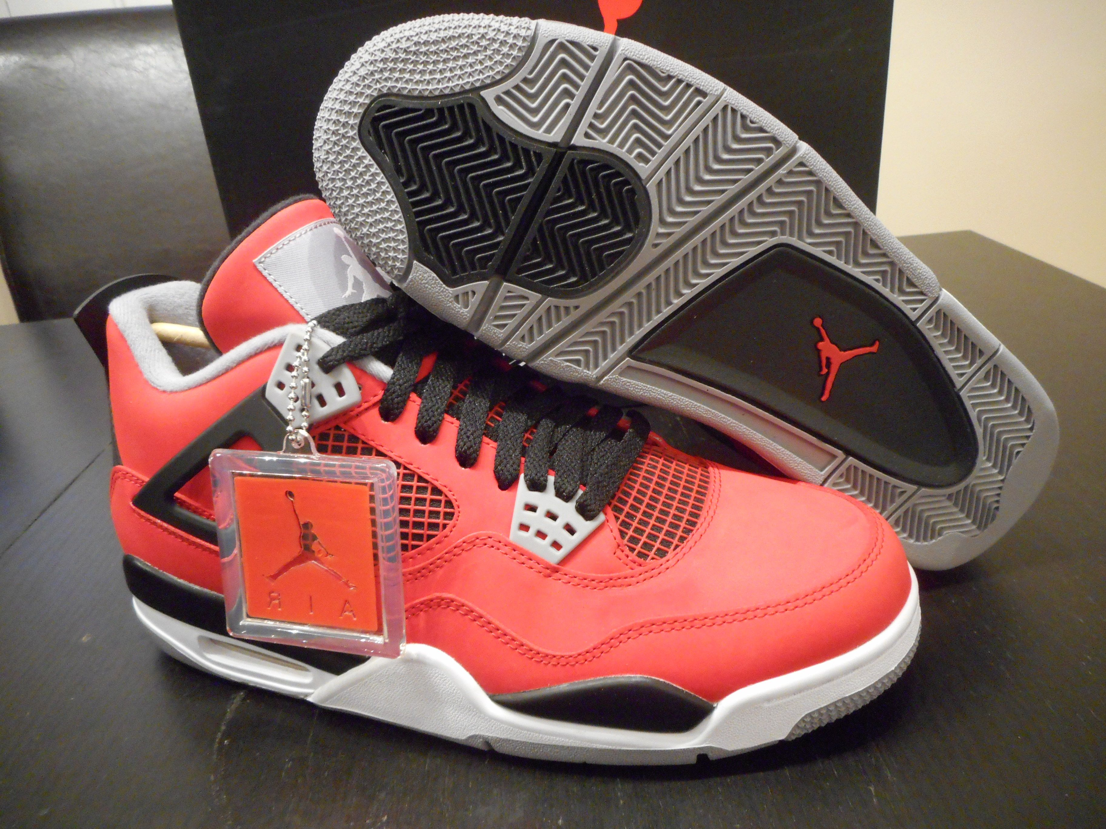 100% authentic 7cddb 71545 Brand New Authentic Nike Air Jordan 4 IV Toro Bravo Mens Shoe Size 10 US.
