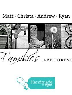 Personalized Family Gift  Creative Letter Art  Custom Alphabet