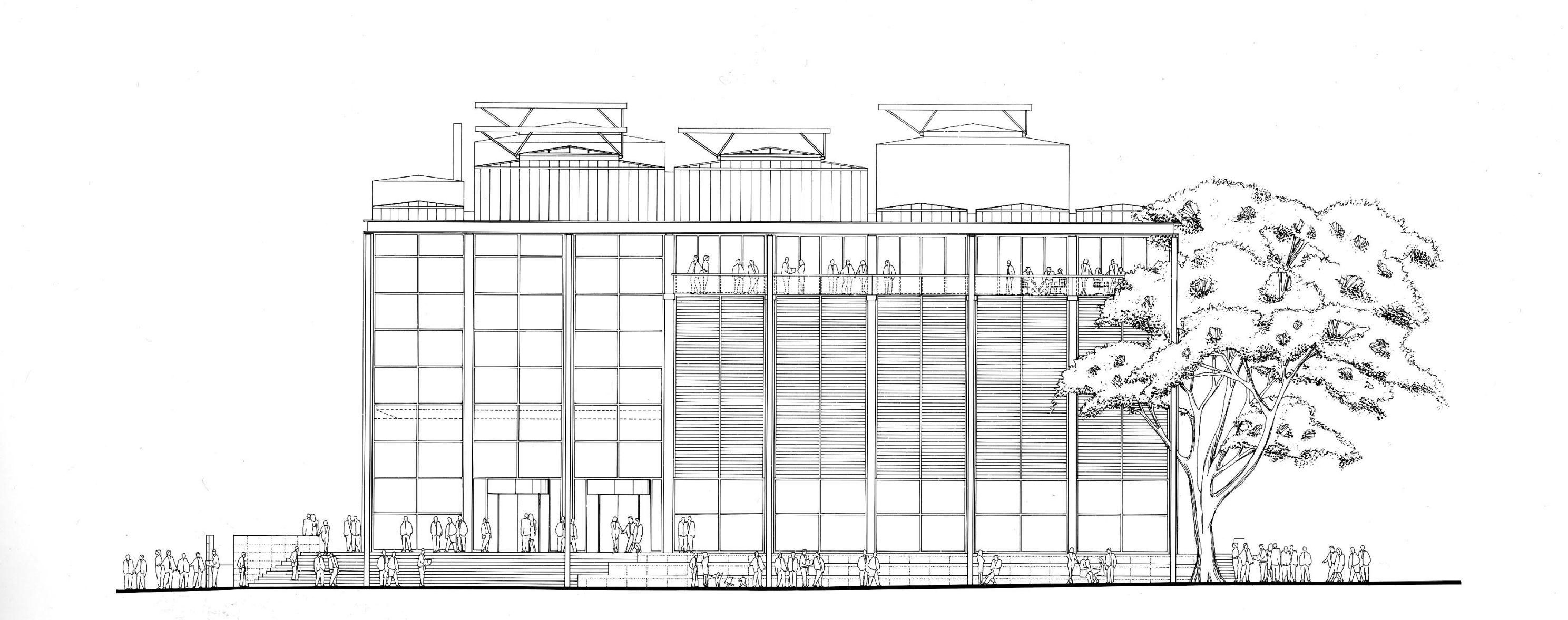 The Building Carre D Art Art Nimes Building