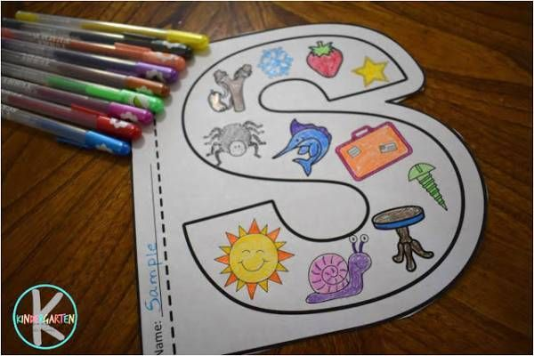 Preschool Alphabet Coloring Pages To Print : Alphabet coloring sheet free printable no time for flash cards