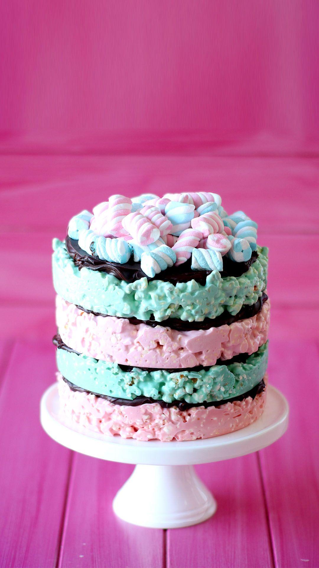 Photo of No-Bake Popcorn Cake