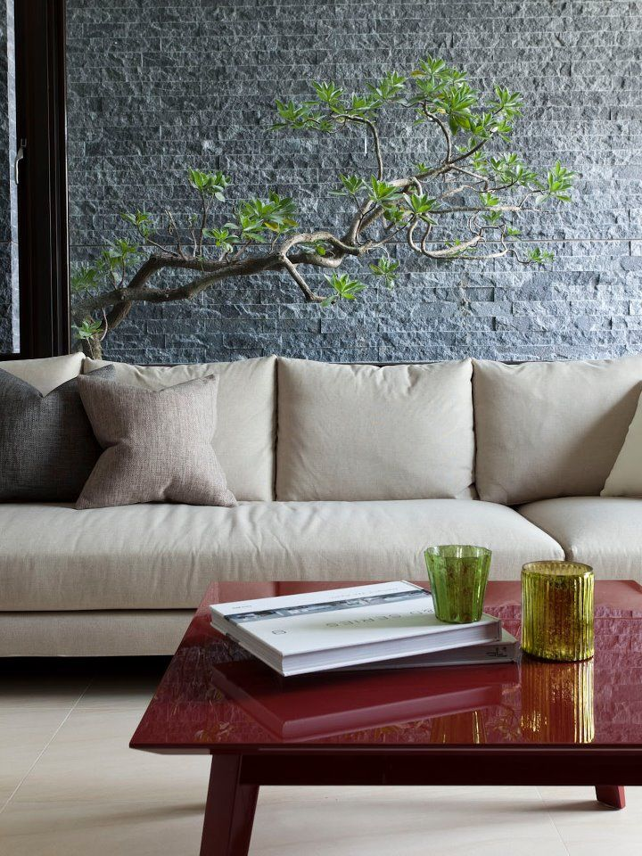 Home Apartment Asia Interior Design Decorating Also Red Tables - A modern asian minimalistic apartment