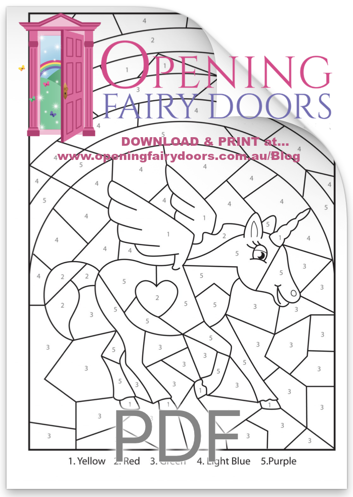 Three Free Colouring Pages Fairy Door Blog Opening Fairy Doors Unicorn Coloring Pages Free Coloring Pages Free Coloring