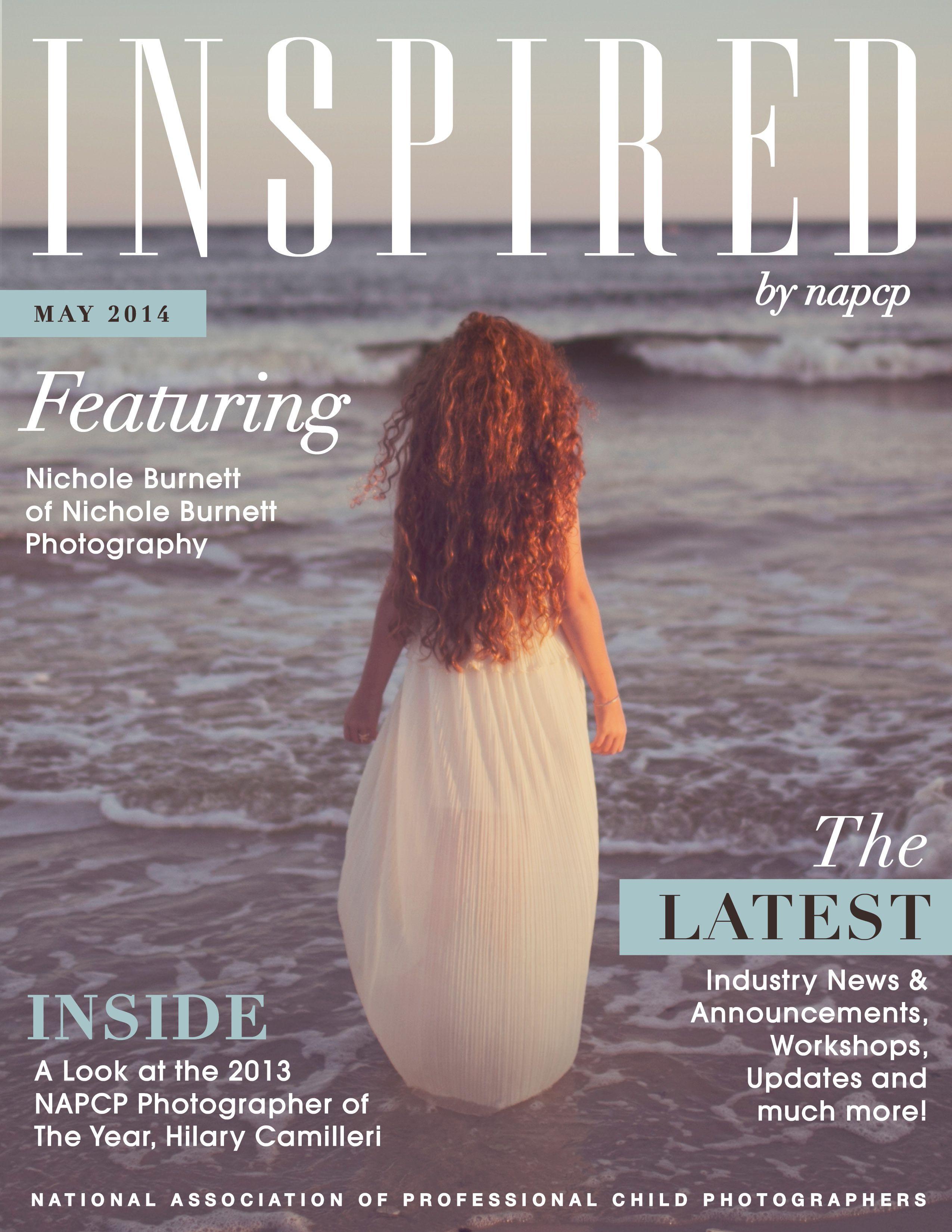 NAPCP May 2014 Newsletter featuring Nichole Burnett! #photographer #inspired #redhair #nicholeburnett @Nichole Burnett #napcp