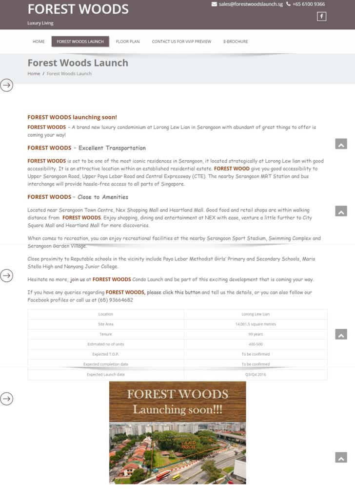 FOREST WOODSLuxury Living