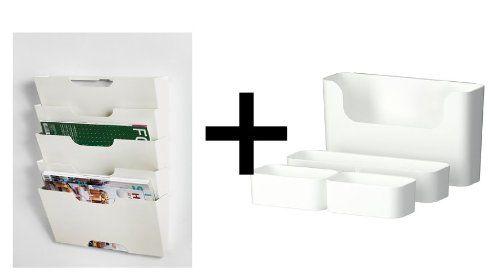 Ikea Wall Mount Organizer Set Kvissle