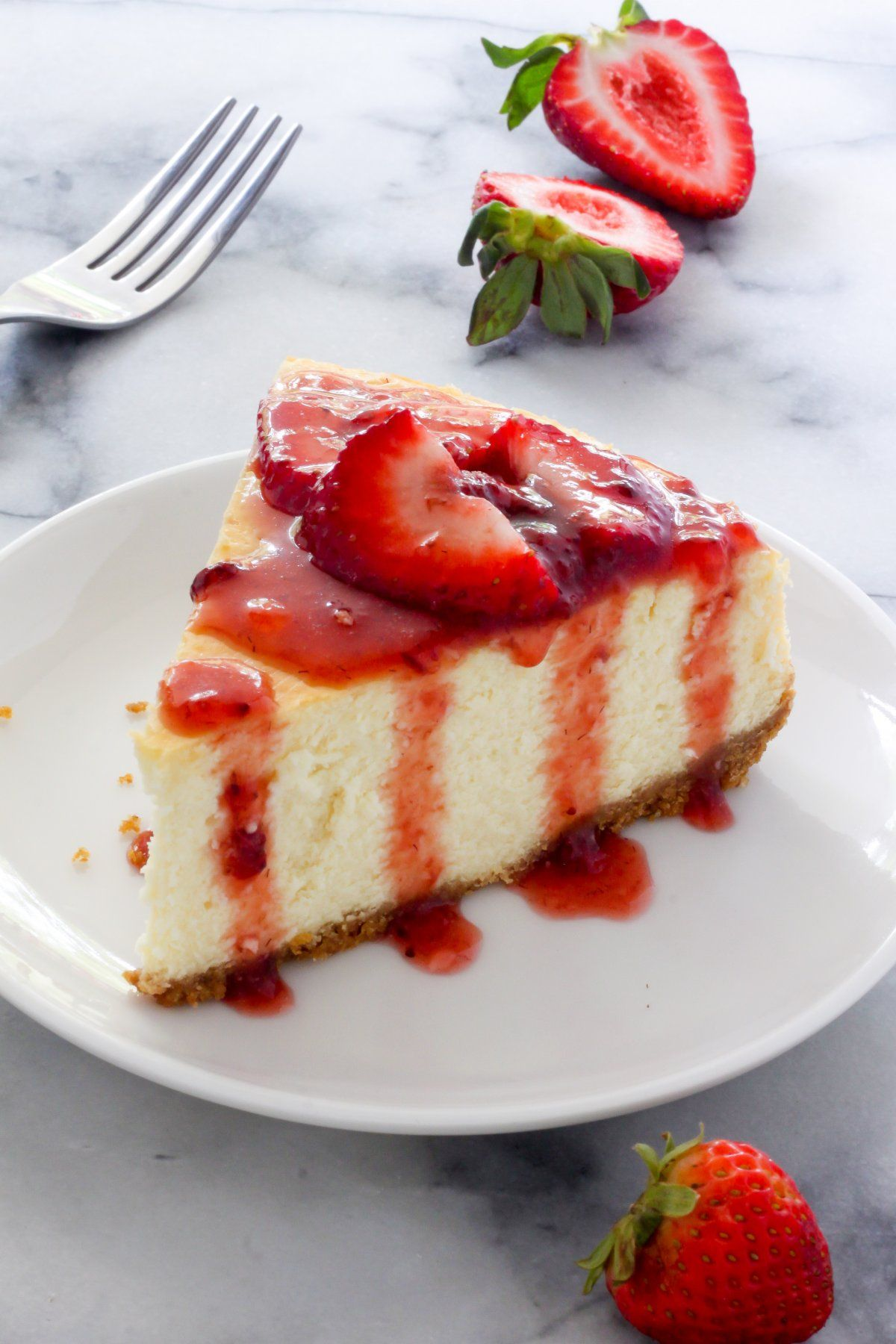 The Best New York-Style Cheesecake  Receta  Carrie -3254
