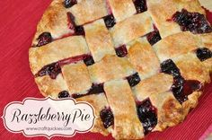 Razzleberry Pie=blueberries, blackberries & raspberries...my mom's favorite!