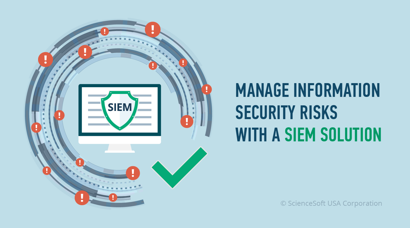 Managing information security risks with a SIEM solution