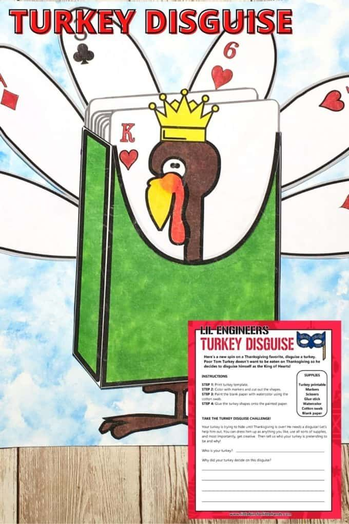 Turkey Disguise Project For Thanksgiving -   18 disguise a turkey project printable template ideas