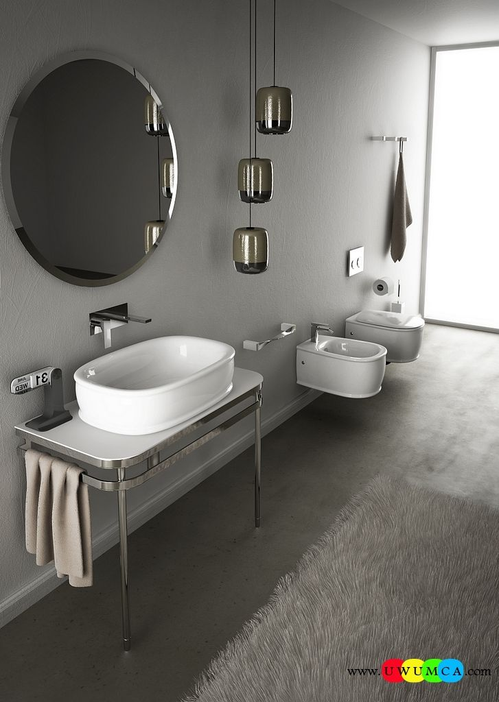 Bathroom:Wall Hung Sanitary Ware Solutions For The Small Space ...