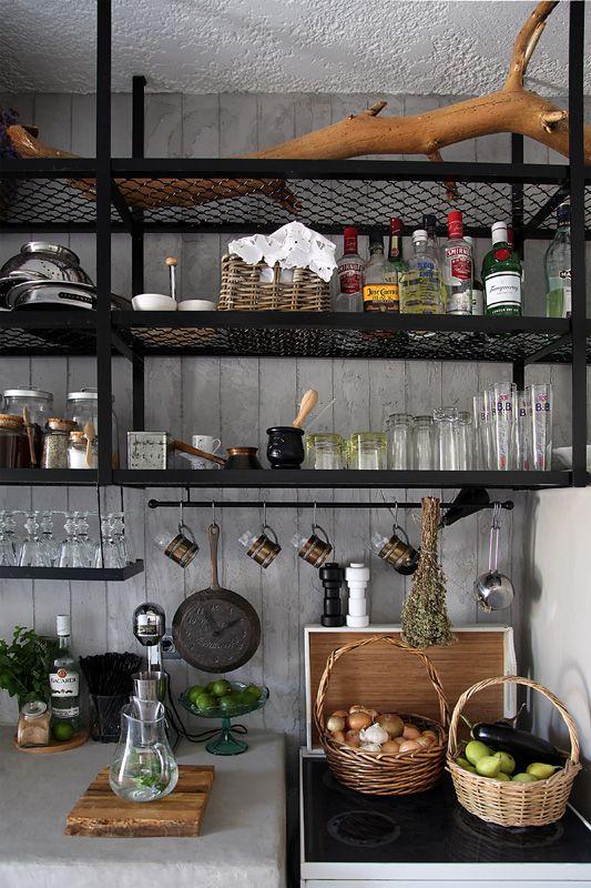Ideas For A Great Open Shelf Kitchen Open Kitchen Shelves