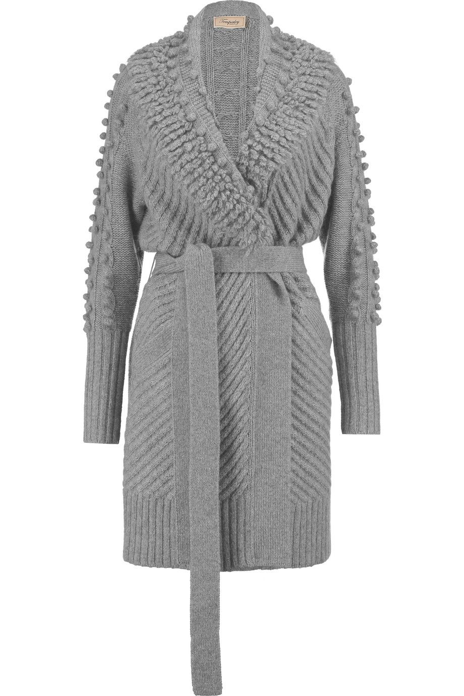 Nell belted wool-blend cardigan | Temperley London | UK | THE ...
