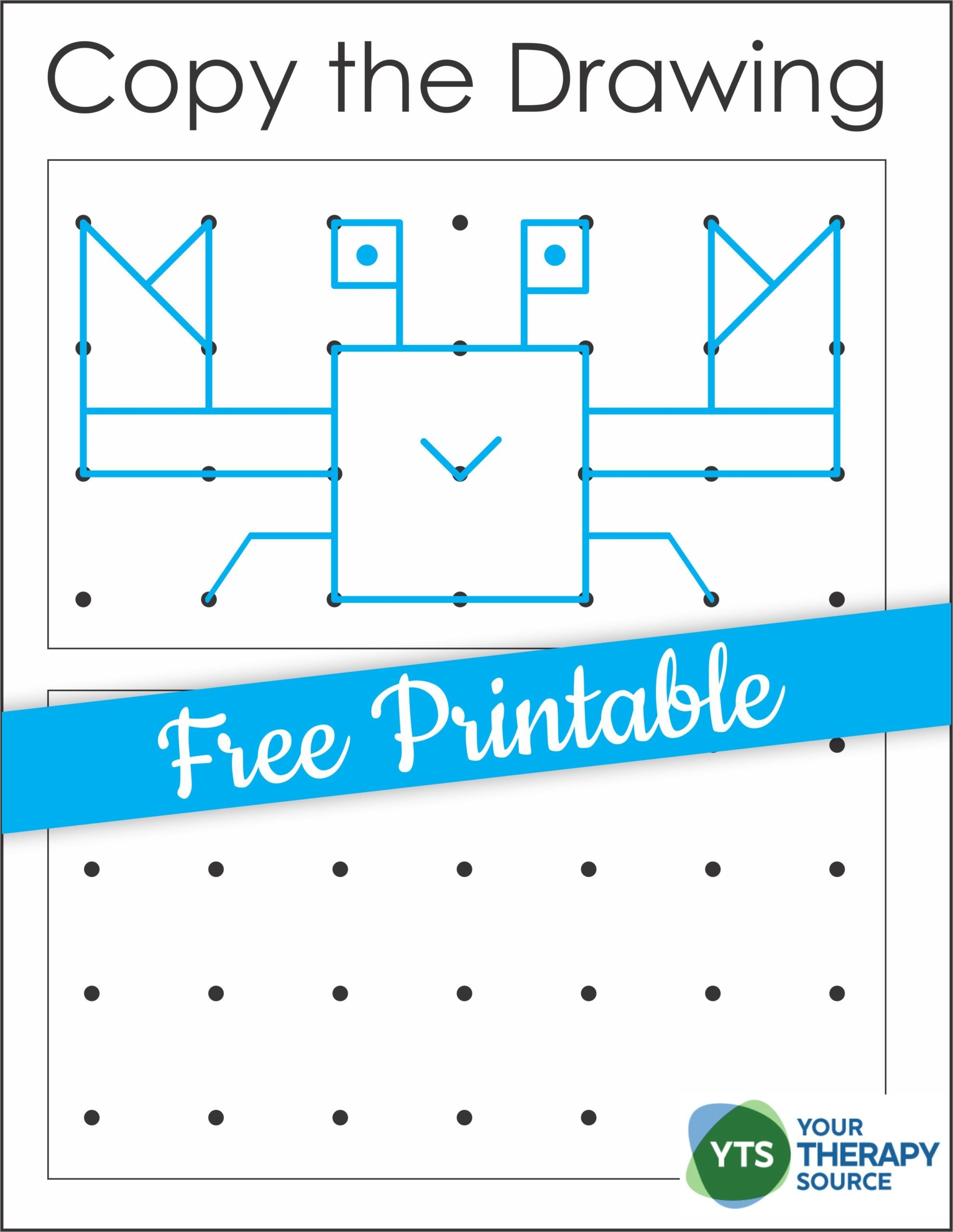 Free Visual Spatial Printable Copy The Crab Your Therapy Source Occupational Therapy Kids Visual Perceptual Activities Occupational Therapy Activities [ 2560 x 1980 Pixel ]