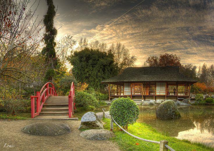 Jardin Japonais Toulouse Jardin Japonais Beaux Jardins Jardins