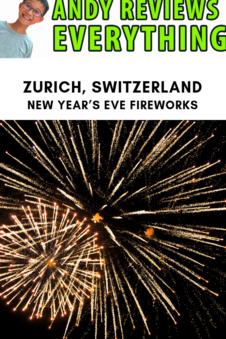 Zurich Switzerland New Year S Eve Fireworks In Lake Zurich Important Tips From A Kid New Years Eve Fireworks Zurich New Years Eve