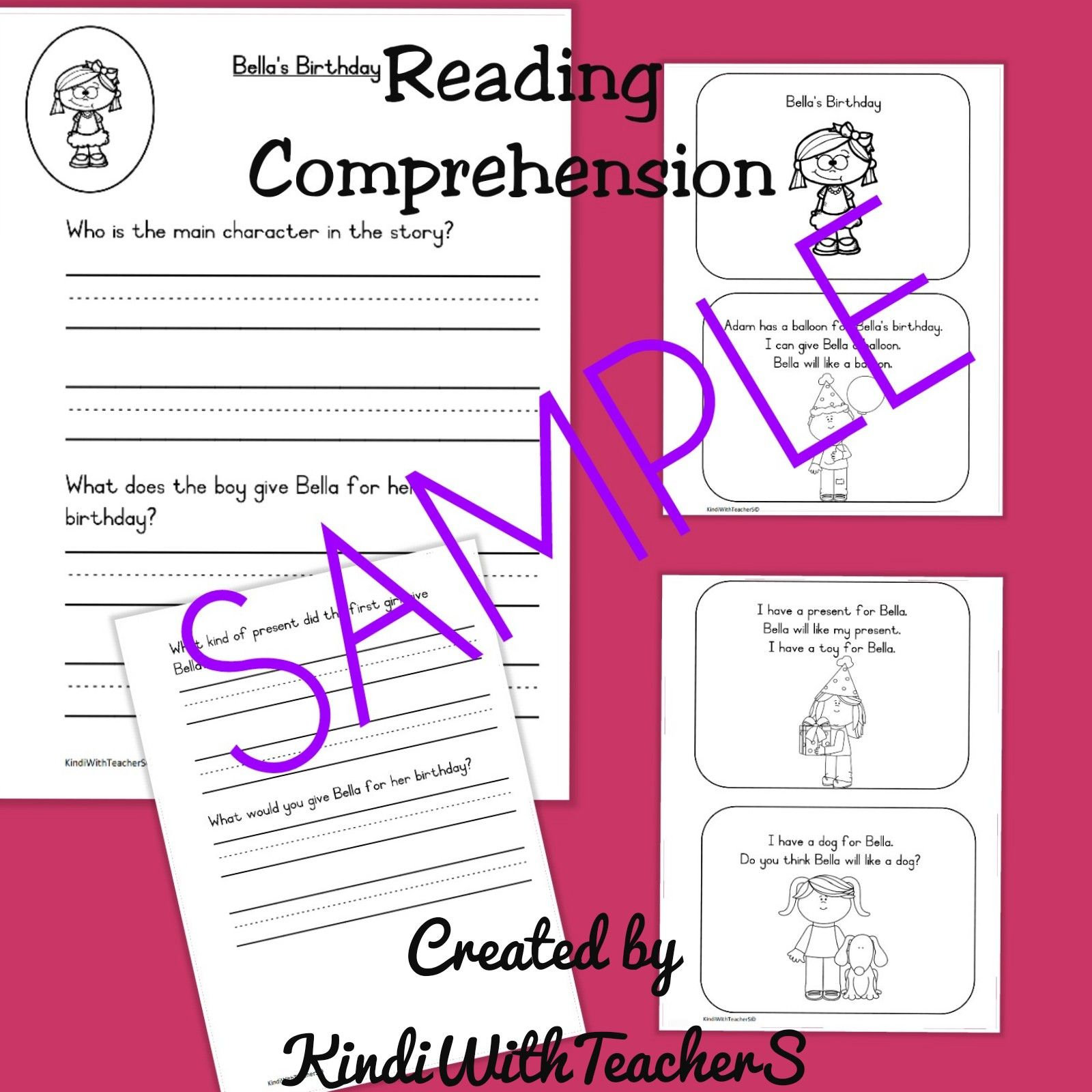 This Reading Comprehension Packet Is Designed To Build