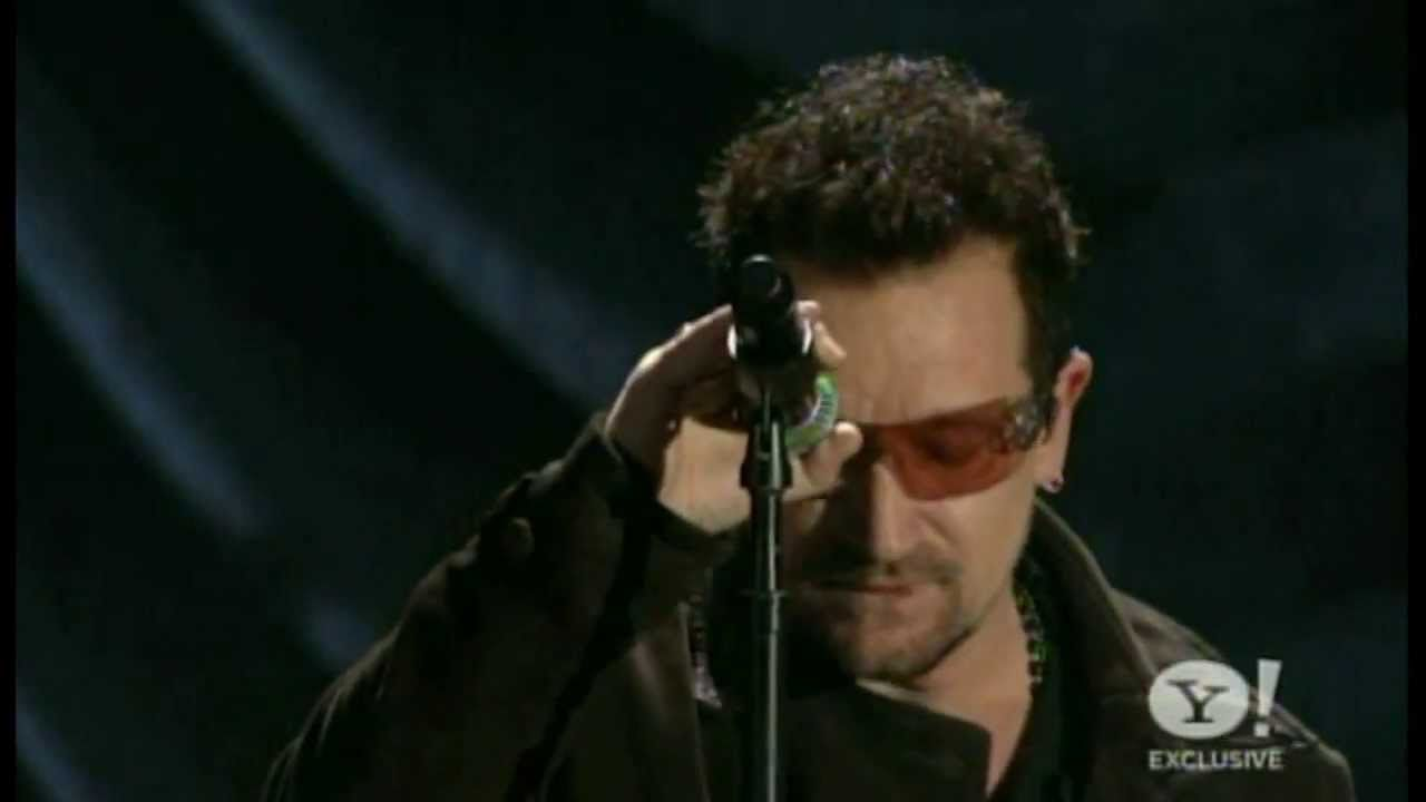 Bono And The Edge (U2) - One - Acoustic w/ Orchestra - Live
