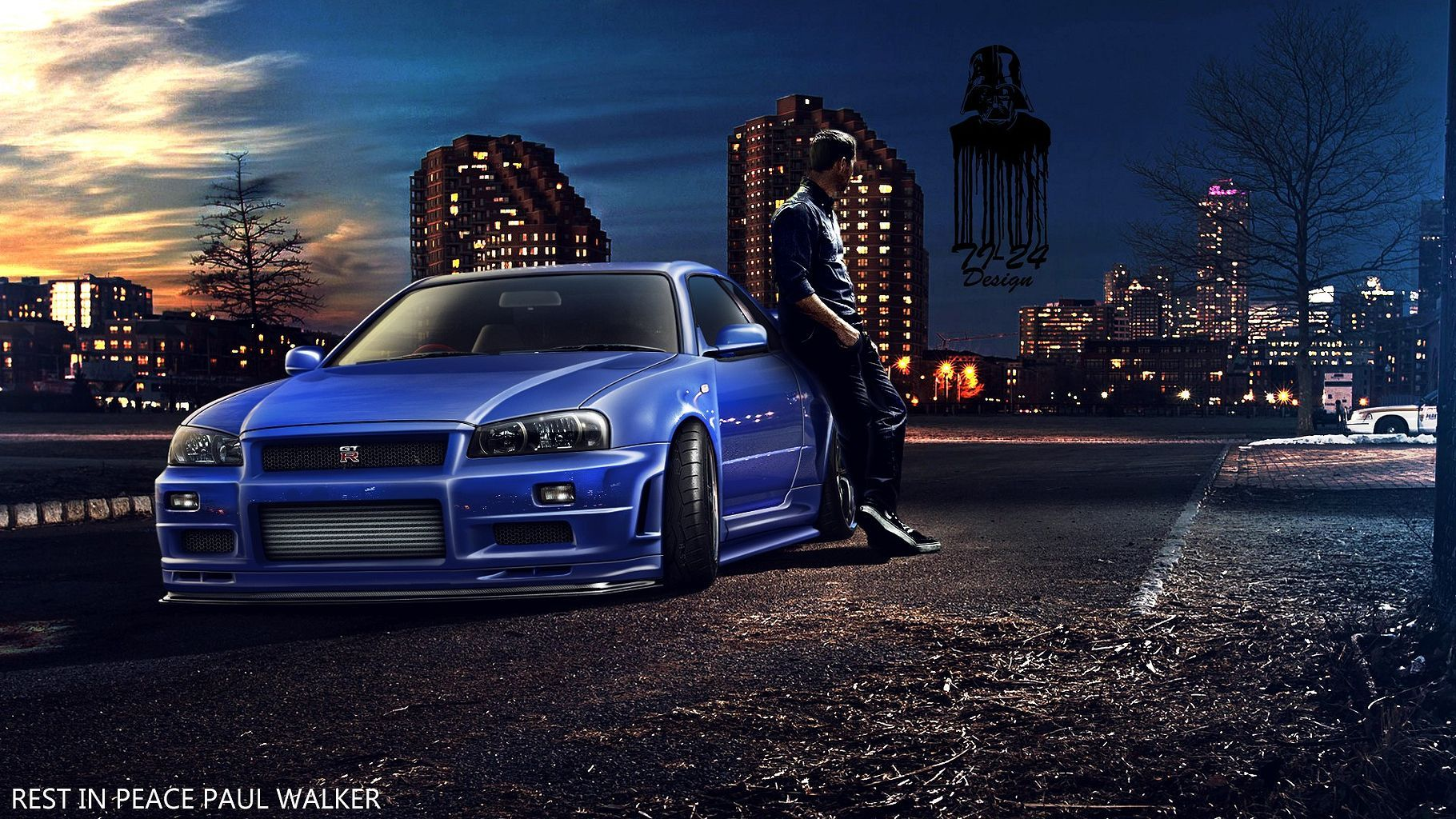 Nissan Skyline GTR R34 Fast And Furious Awesome