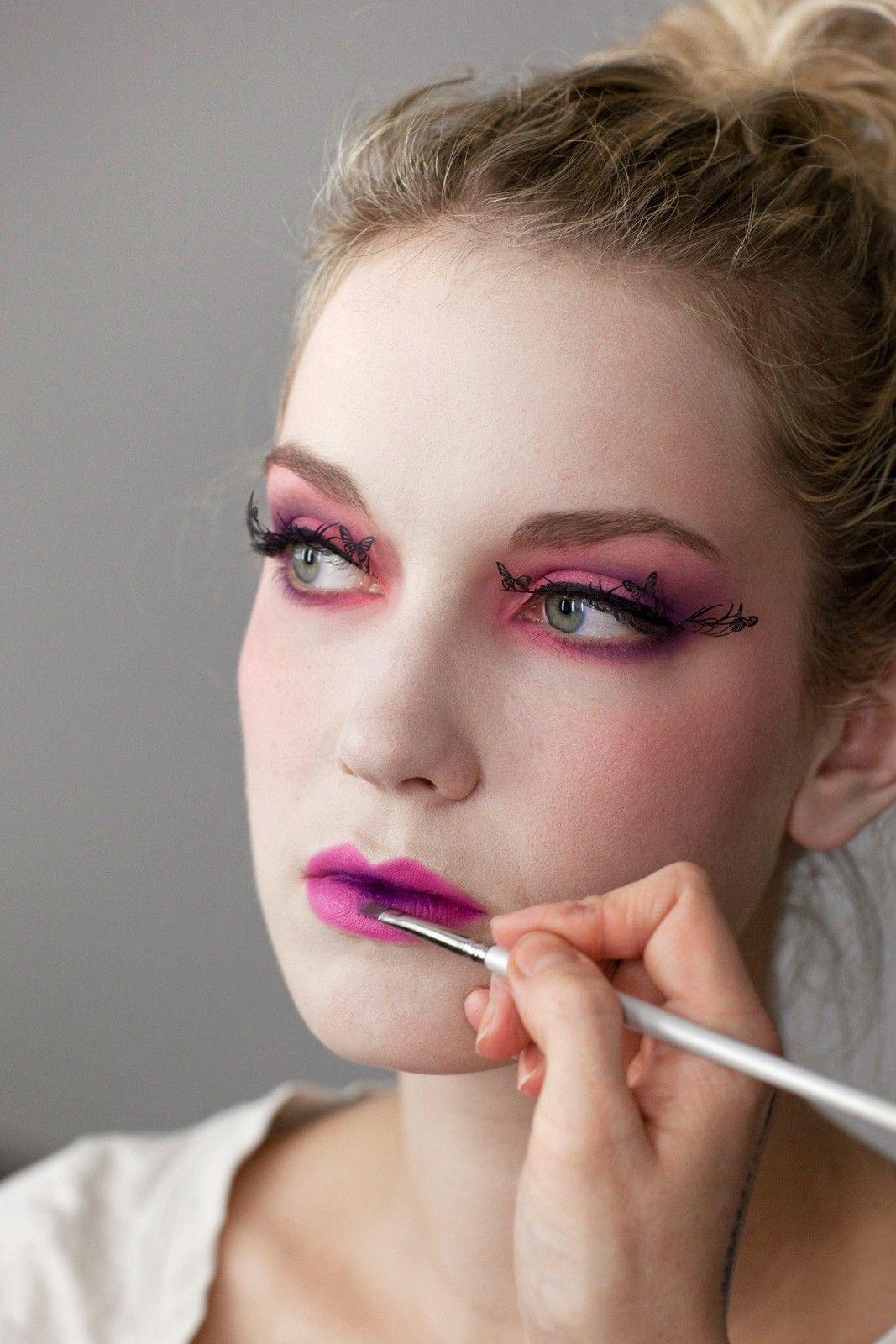 Effie Trinket Makeup Tutorial from the hunger games. I