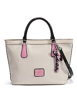 Guess Purse Have It But All White N Pink Love