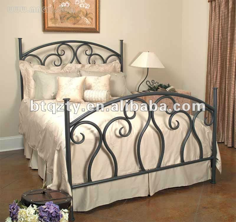 cama de hierro forjado sin dosel hogar dulce hogar