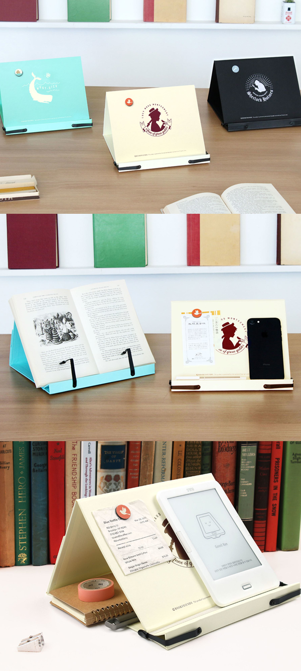 The Literature Foldable Bookstand Is A Multifunctional Desk Accessory To Improve Your Reading Experience Stationary Creative Cool Things To Buy Calendar Design