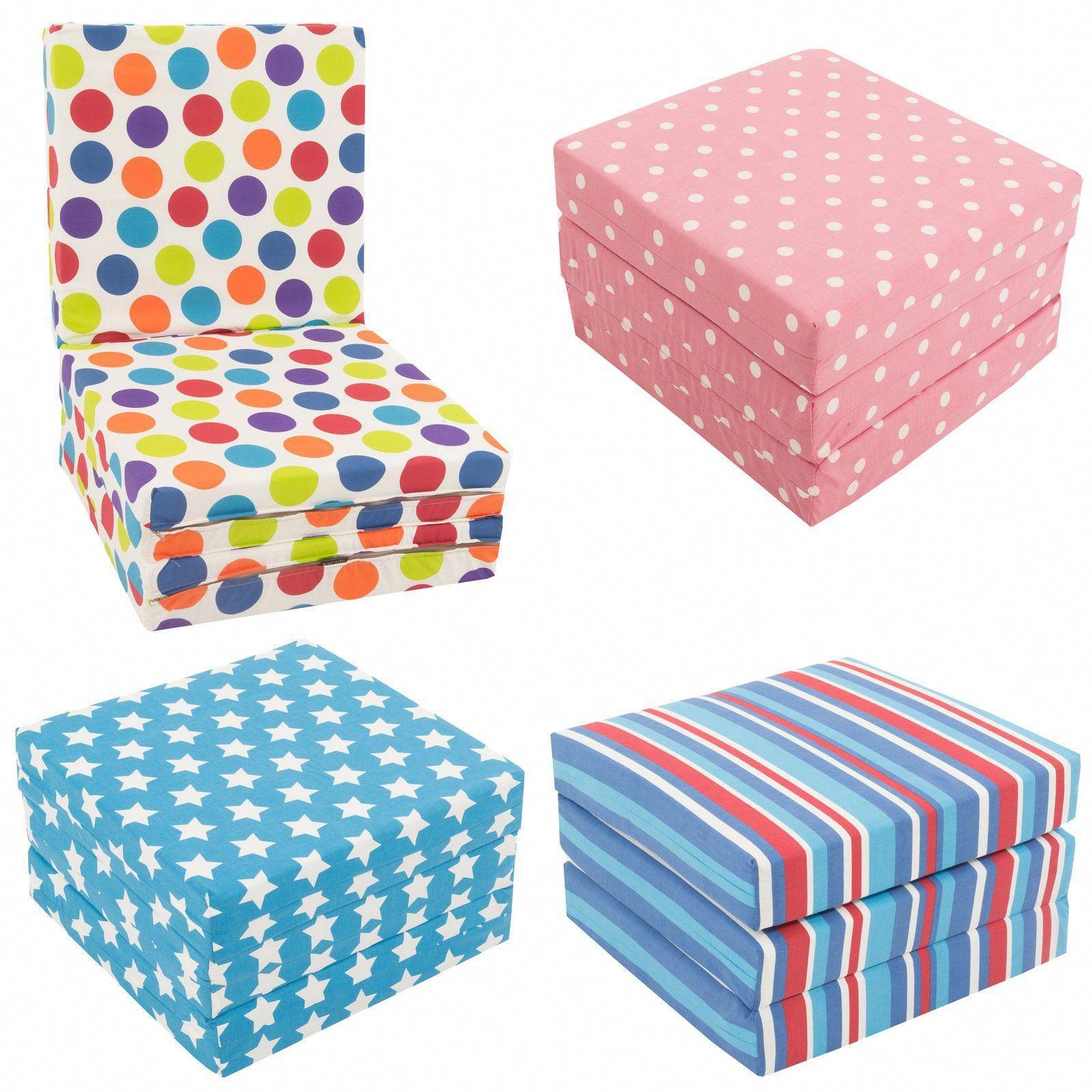 Fold Out Chair Bed Kids White Rocking Wooden Legs Folding Single Futon Guest Z Childrens Chairbed Gilda Ebay Childrenschair