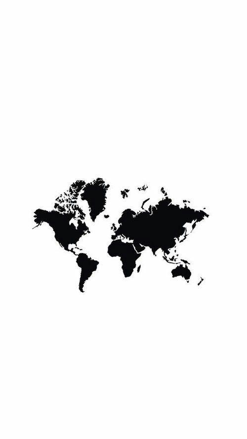World map iphone background manualidades pinterest wallpaper world map iphone background gumiabroncs Images