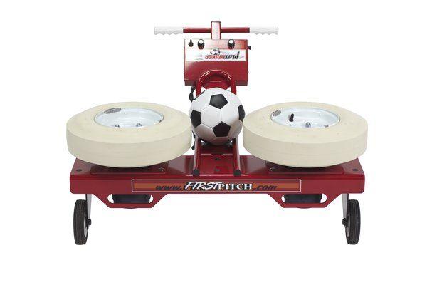 Playmaker Soccer Passing Machine Soccer Kicking Machine Soccer Ball Pitching Machines Soccer Skills