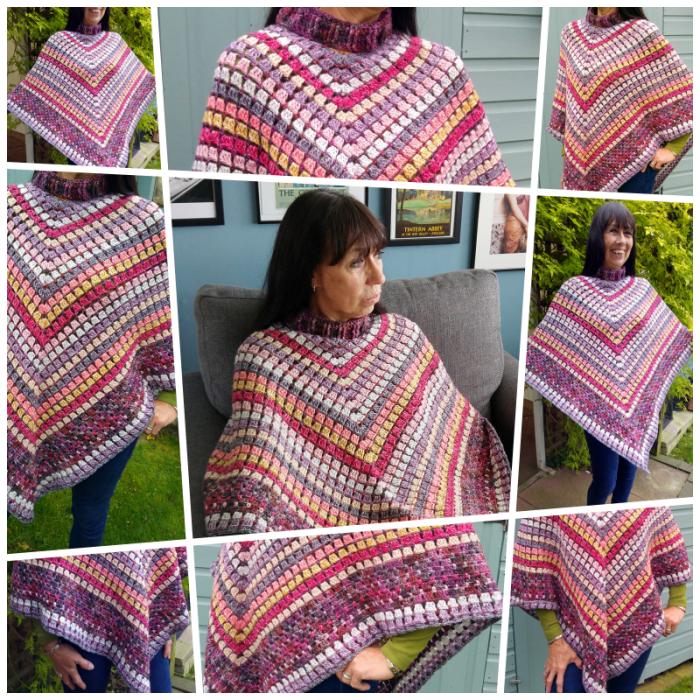 Desert Iron crochet poncho pattern Stylecraft Blog Tour 2017 ...