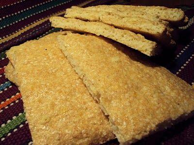 Sesambrød, supert til patpakken eller når man skal ut på tur. Kjapt og enkelt å lage.