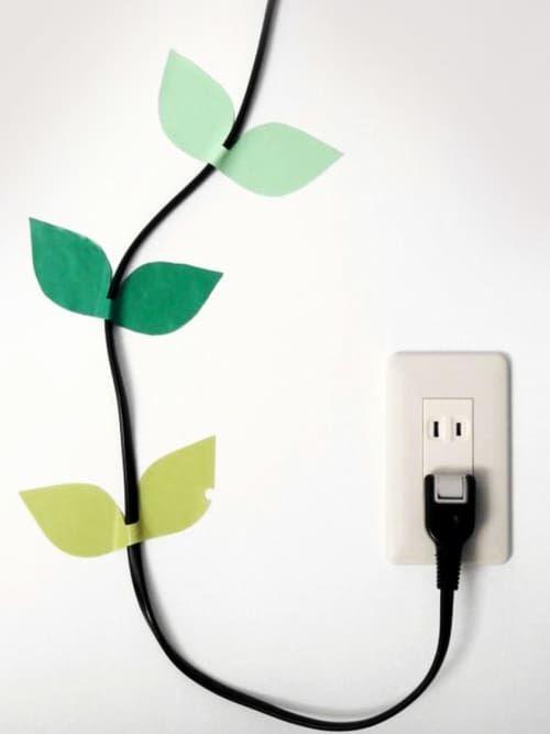 kabelsalat 5 ideen um deine kabel stylisch in szene zu setzen use it minimalistisch sch n. Black Bedroom Furniture Sets. Home Design Ideas