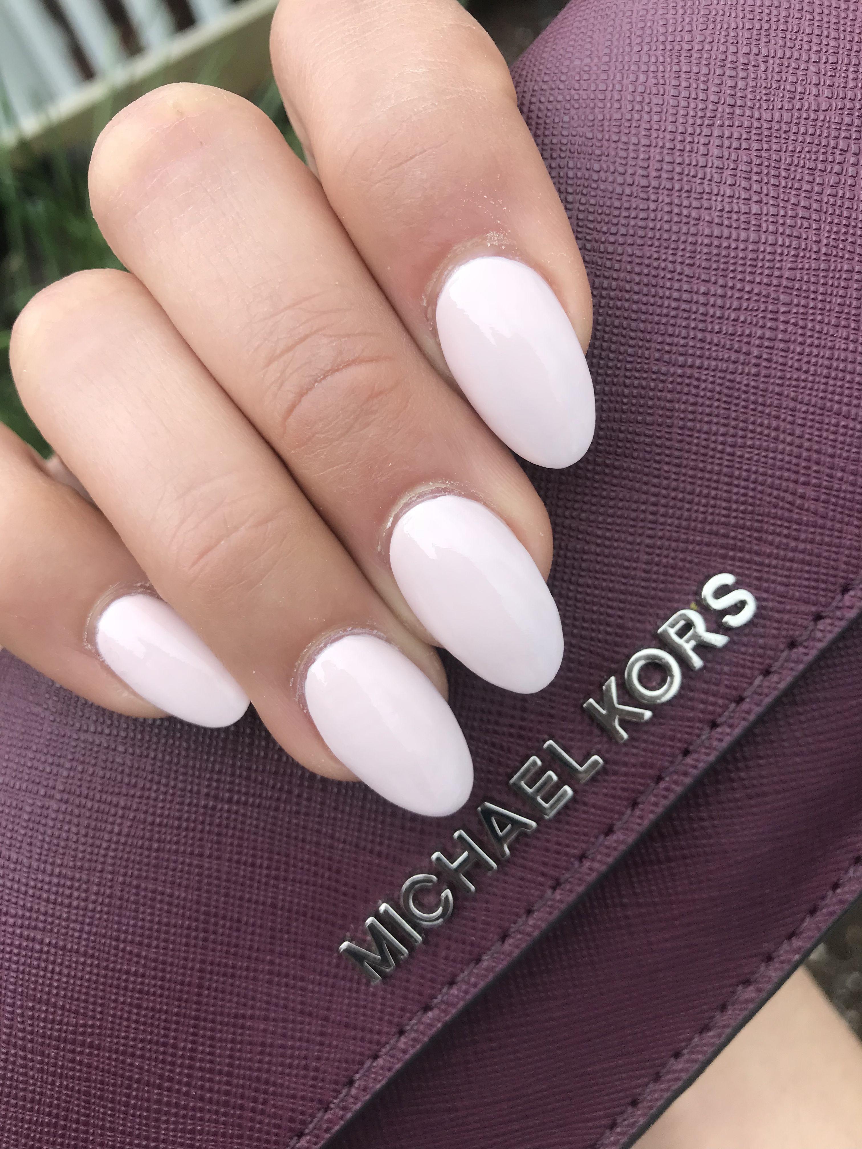 Almond Nails Almondnails Sns Nails Colors Short Acrylic Nails Almond Acrylic Nails