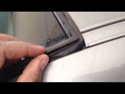 Bmw Rear Window Seal Replacement Diy Part 2 Moldings And Trim Bmw Window Seal