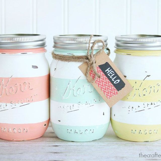 15 Cheerful Ways to Use Mason Jars for Spring and Easter