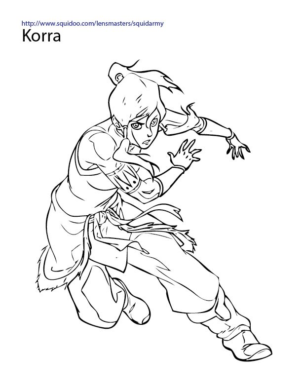 Legend Of Korra Coloring Pages | Coloring Pages | Pinterest ...