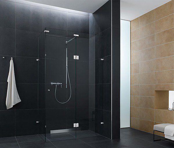 101 photos de salle de bains moderne qui vous inspireront Shower - salle de bain ardoise
