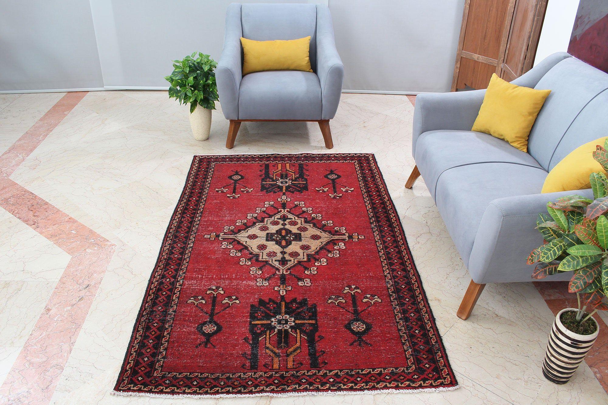 Geometric Oriental Handmade Turkish Area Rug 4x6 Traditional Etsy 4x6 Area Rugs Vintage Rugs Classic Home Decor