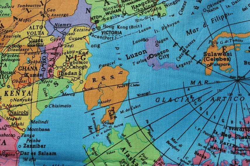 Wereldkaart < Stoffenspektakel