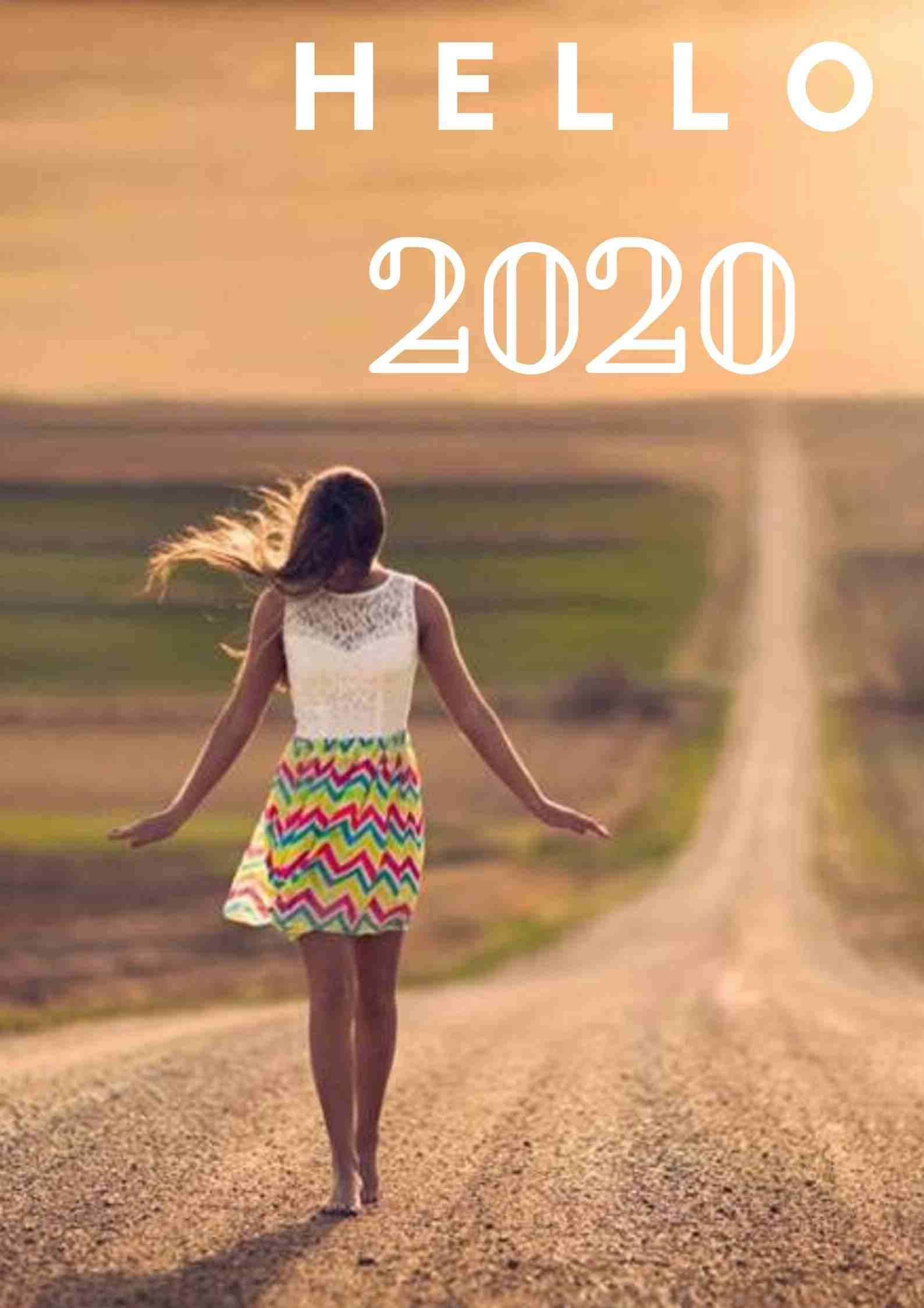 Hello 2020 cards for friends & family. What a wonderful