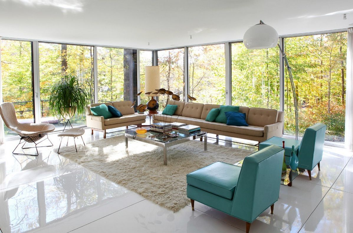 Orange country living room. Patterson Construction Corporation ...