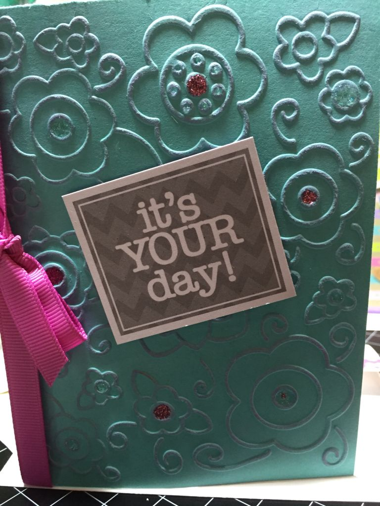It's Your day card - Stamps of Life